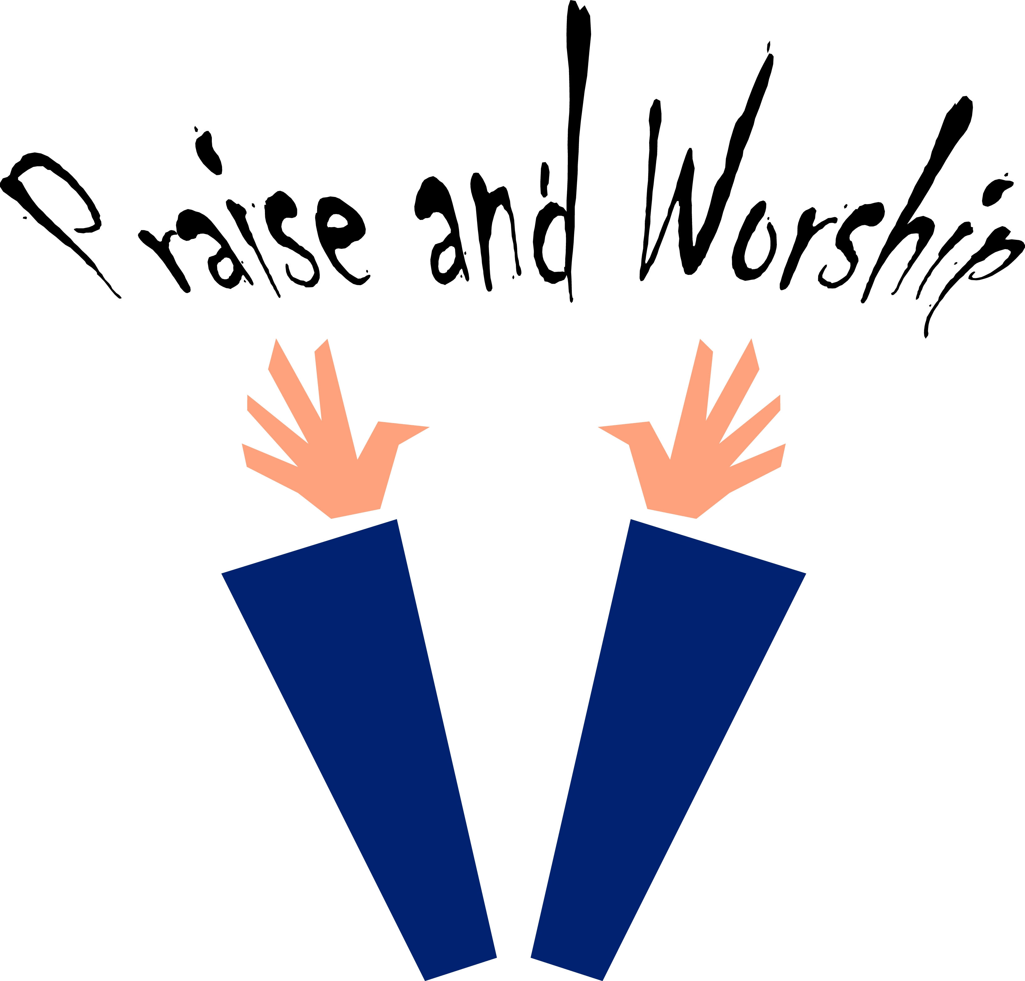 Christian Praise And Worship Clip Art Clipart Best