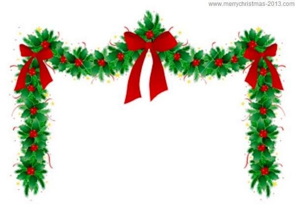 Christmas Border Free Clip Art | christmas-clipart-borders-Merry-Christmas-Clip-Art-Borders-Free ... | Holidays | Pinterest | Christmas garlands, ...