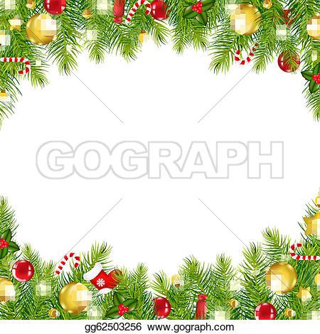 Christmas Border u0026middot; Christmas Vintage Border