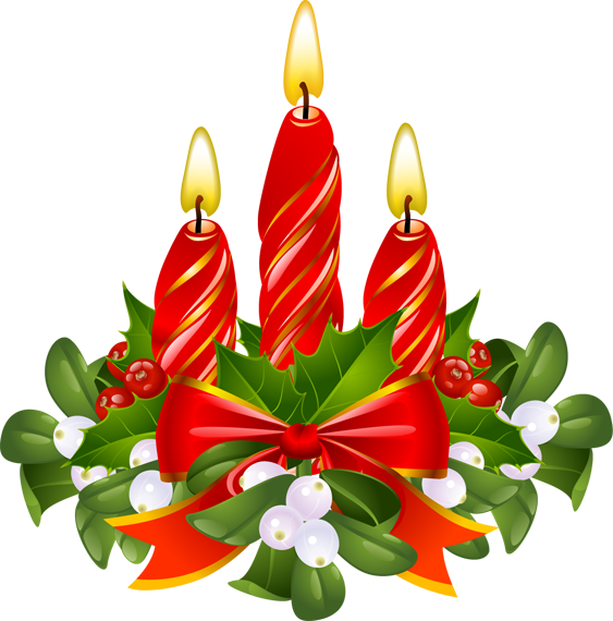 Christmas Candle Clip Art | quotes.