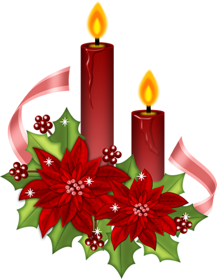 Christmas Candle Clipart Quotes