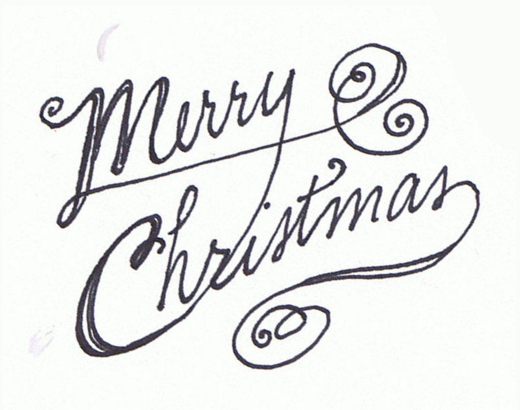 Christmas Clip Art Merry Christmas Jpg