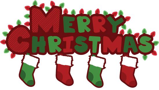 Christmas clipart 6 merry