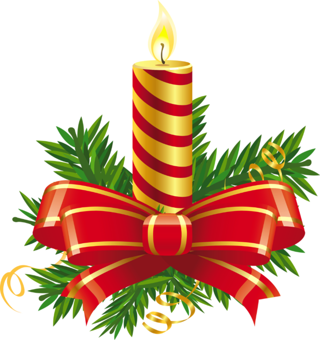 Christmas Clipart Candles Free .