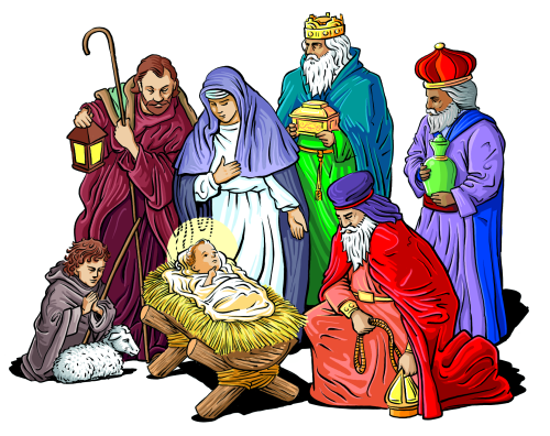 Christmas Clipart Nativity . Nativity Scene. Nativity Scene. Free Religious Christmas .