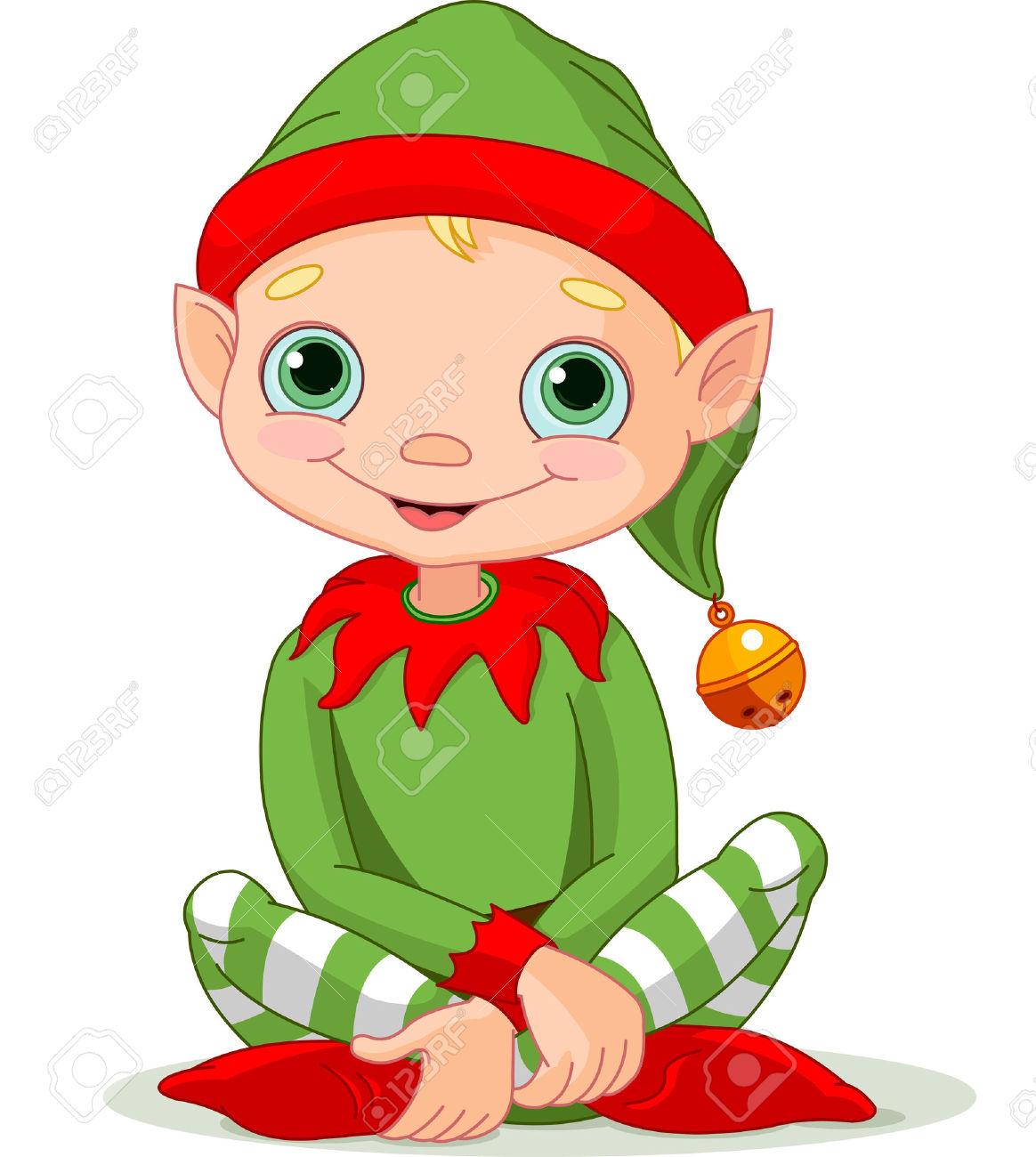Christmas Elf Free Clipart