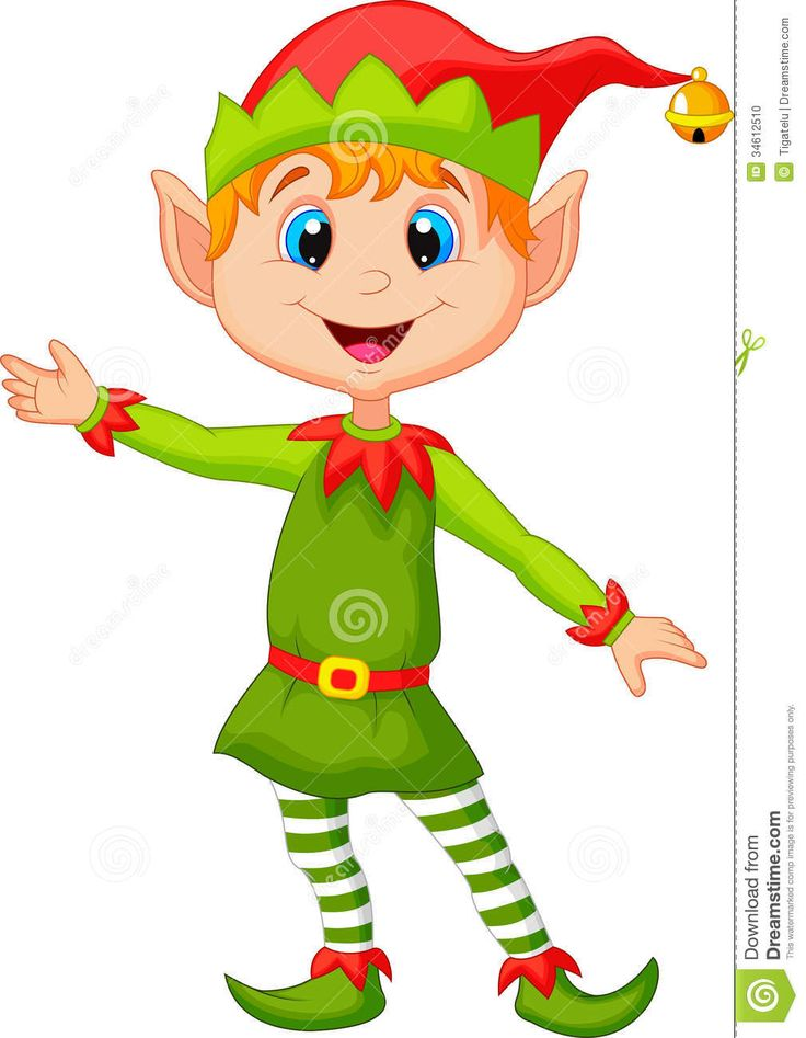 Christmas elf | Illustration of Cute christmas elf cartoon presenting. Christmas CartoonsChristmas CharactersChristmas ClipartChristmas ...