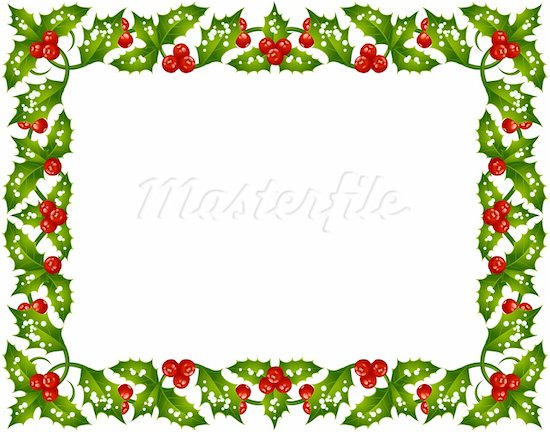 Christmas Frame Free Clipart # .