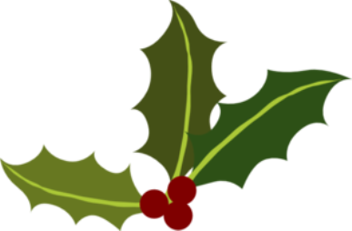 Christmas holiday clipart .