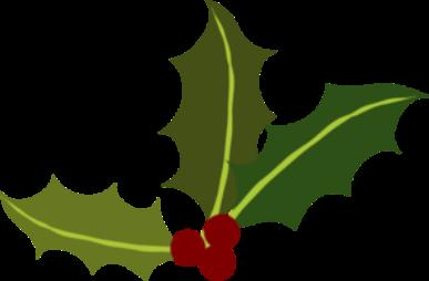 Christmas Holly Clip Art Art ..