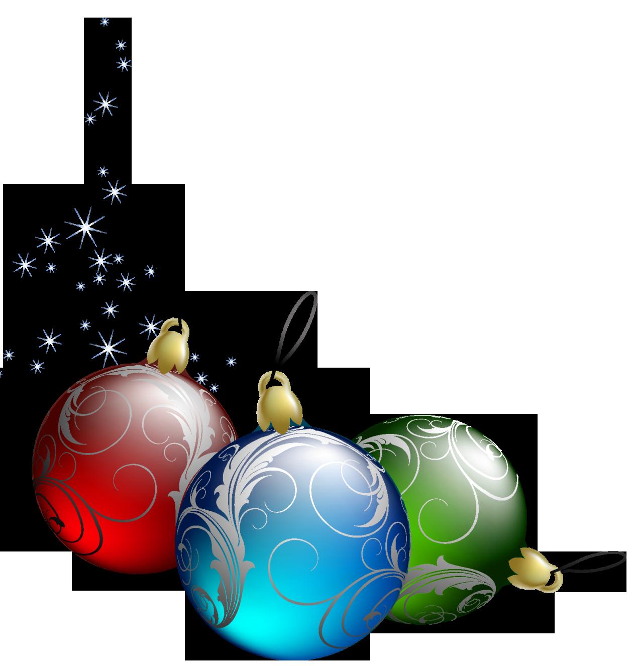 christmas ornament clip art . Tree Christmas Transparent .