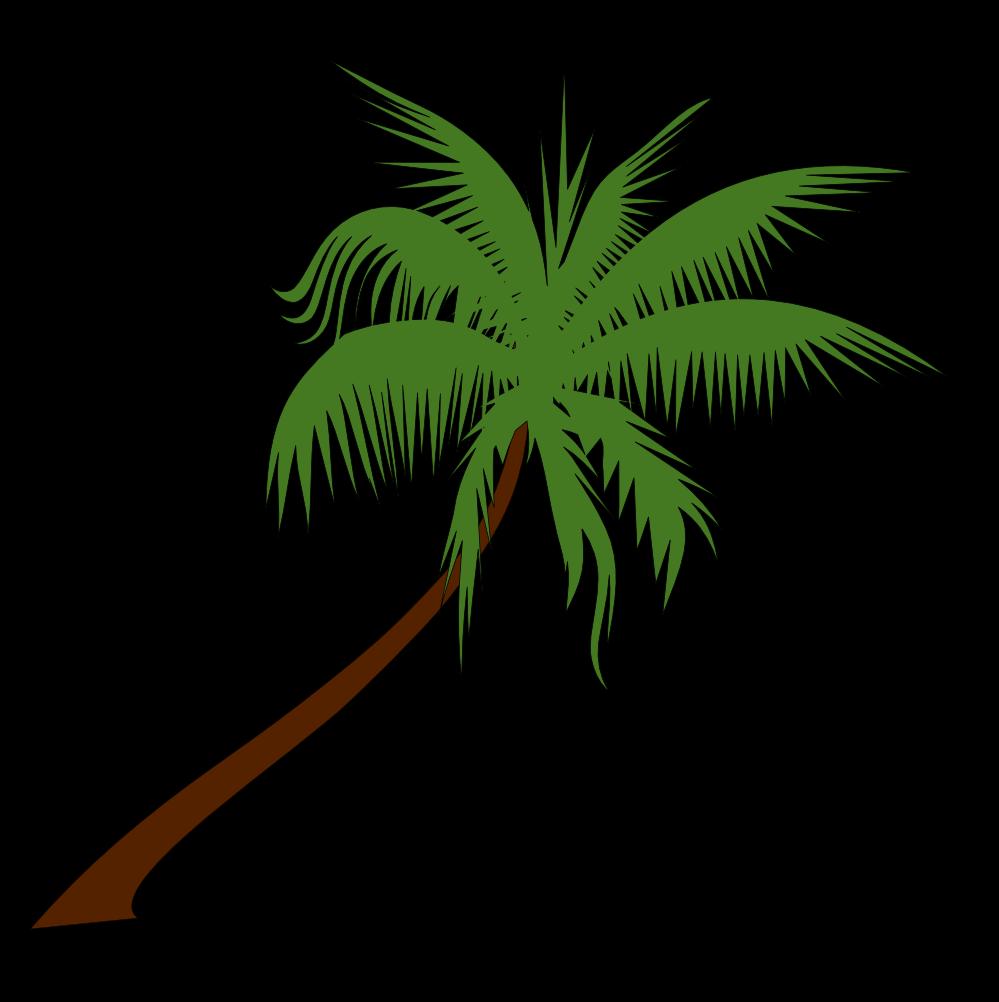Christmas Palm Tree Clip Art Outline Free Palm Tree Clip Art Image
