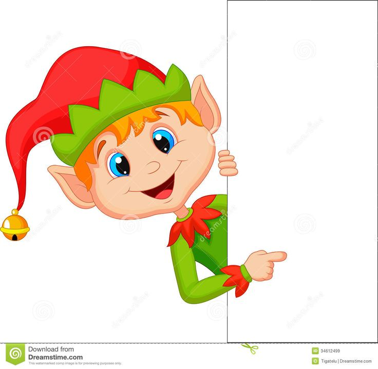 Christmas Santa Elf Clip Art 3 Royalty Free Stock Photo - Image .