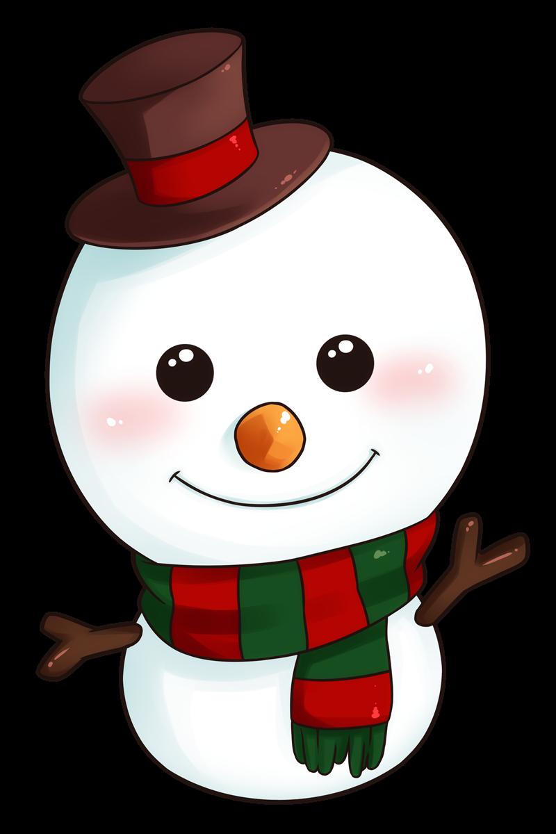 Christmas Snowman Clipart This Adorable Snowman Clip Art