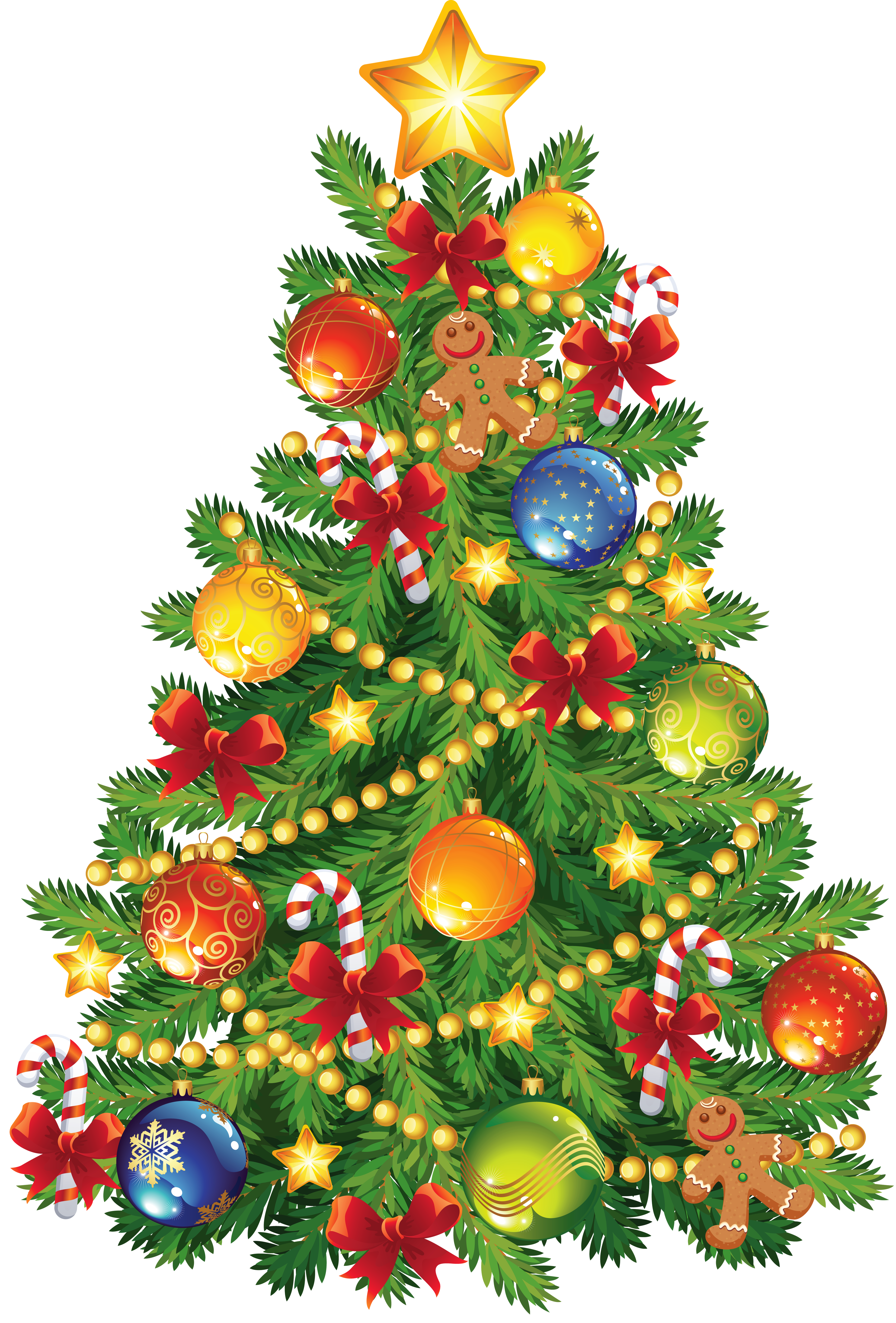 Christmas Trees Clipart .