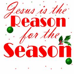 Christmas Wallpapers Free Download: Clip Art - Jesus is the Reason for the Season