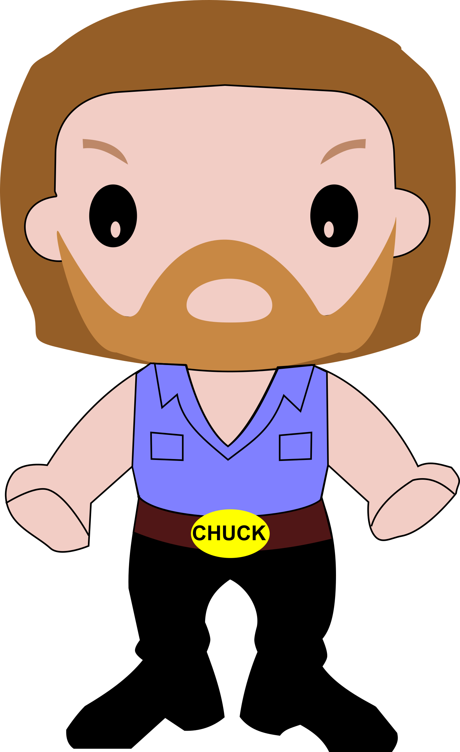 Free Photos U003e Vector Images U003e Chuck Norris Vector Cartoon Clipart Hdclipartall.com