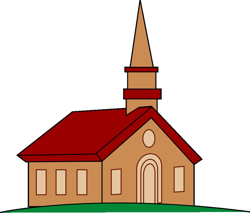 Church Building Clip Art .. C - Church Clip Art