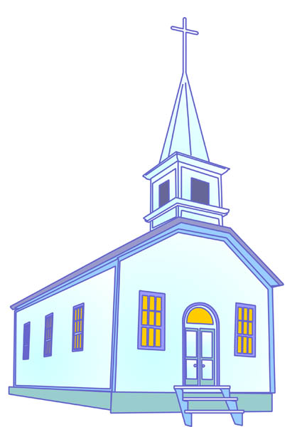 Church Building Clipart. Country Church Building Free .