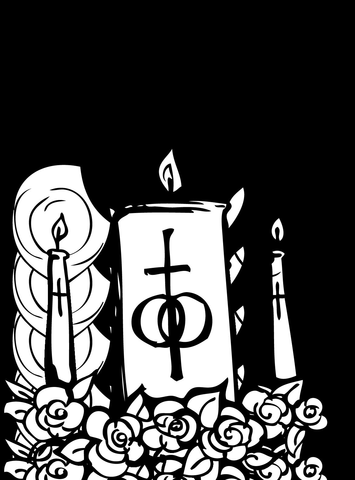 Catholic Church Catholicism Wedding Clip art - Church Candles