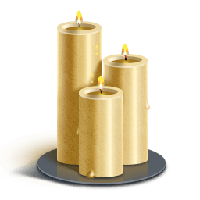 Church Candles Png PNG Image