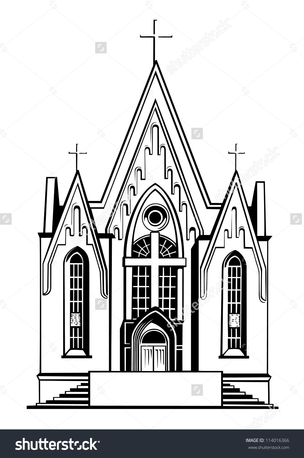 catholic church clipart 3