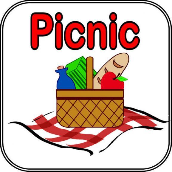 Church picnic clip art free clipart images