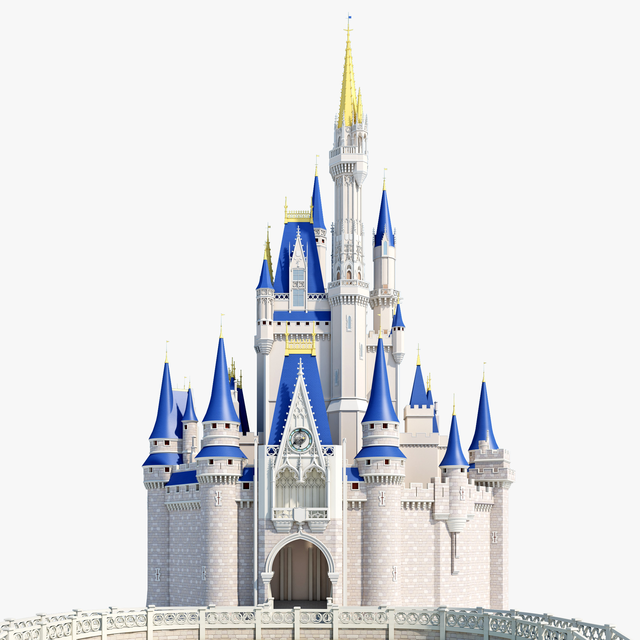 Castle clipart cinderella castle #7