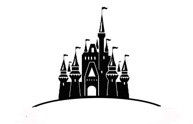 Cinderella castle clip art fr - Cinderella Castle Clipart