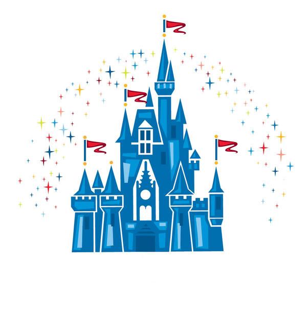 Cinderella Castle Clipart #1