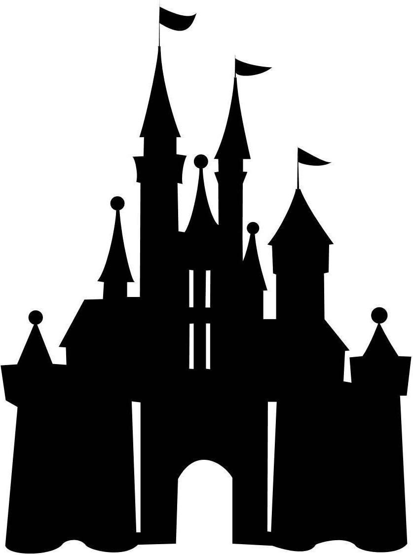 Disney Castle Clipart - JPEG Image #19130