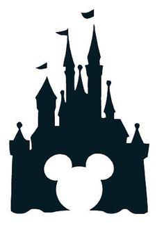 Disney Castle Clipart With Mickey Head