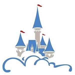 Disney Castle Logo Clipart - Cinderella Castle Clipart