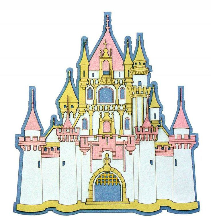 Disney cinderella castle clipart collection 3