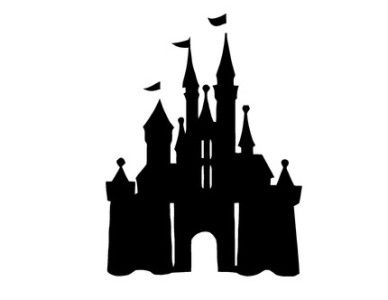 Disneyland Castle Silhouette | Clipart Panda - Free Clipart Images