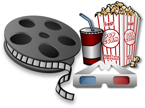 Cinema Clipart #19819