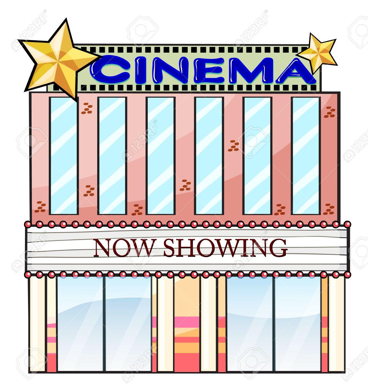 Places clipart cinema building #2