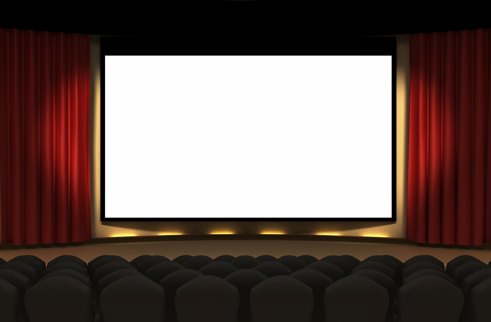 Screen clipart cinema #3