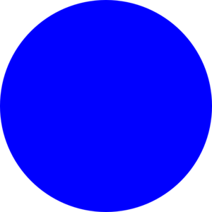 Blue circle clipart - Circle Clipart