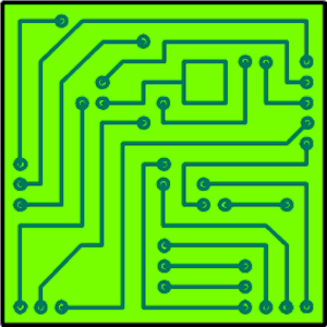 Circuit Board Clipart #23972