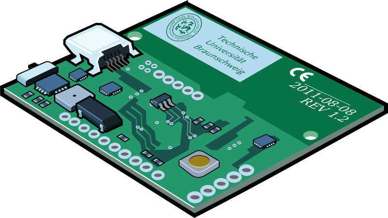 Circuit Board Clipart #23980