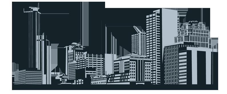 City buildings clipart .