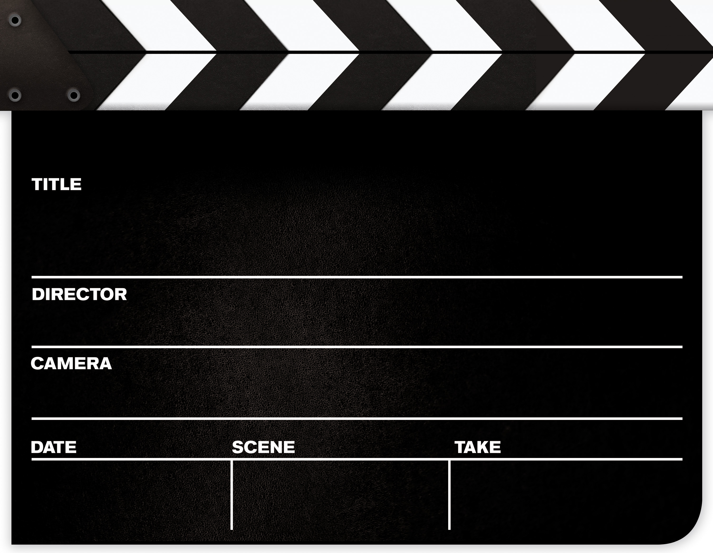 Clapper Board - ClipArt .