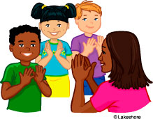 Clapping Hands Clipart - Clipart Kid