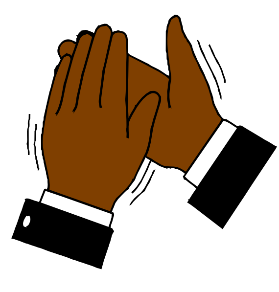 ... Clapping Hands Clipart - clipartall ...