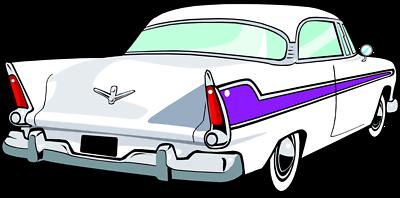 Classic Car Clip Art