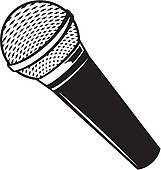 classic microphone .