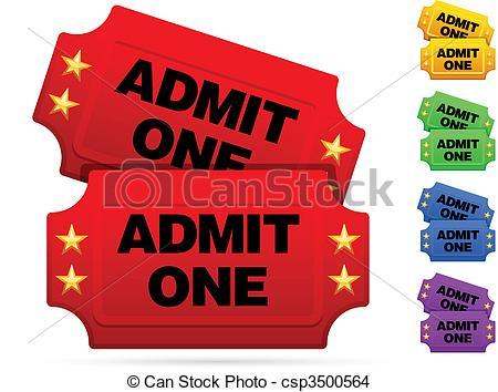 ... Classic movie tickets