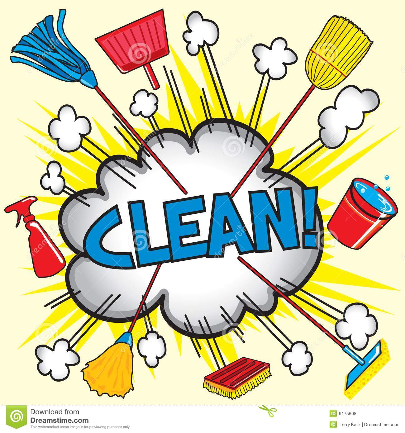 Clean! Royalty Free Stock Photos