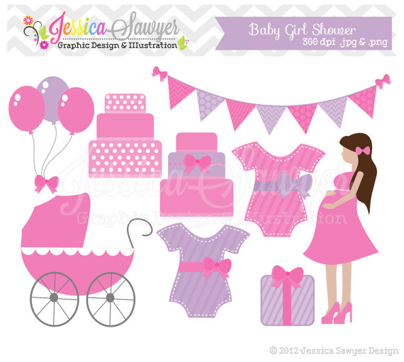 Clearance Baby Shower Clip Art ..